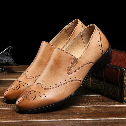 Brogue Elegant Dress Shoes