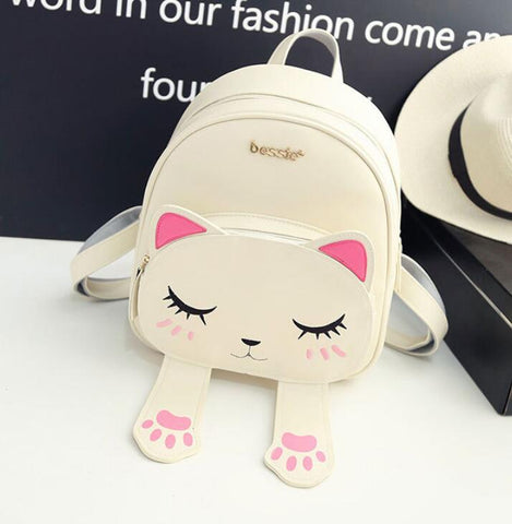 Cute Cat Paw Backpack