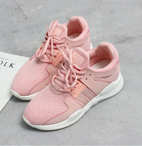 Pink Sport Running Shoes
