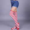 Striped Knee High Stockings