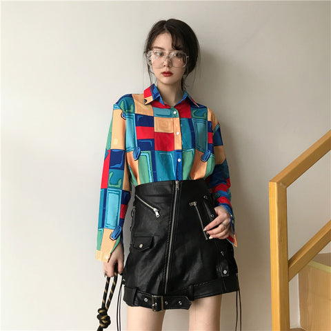 Pop Art Stylish Blouse