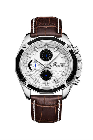 Chronograph Brown Dial Watch