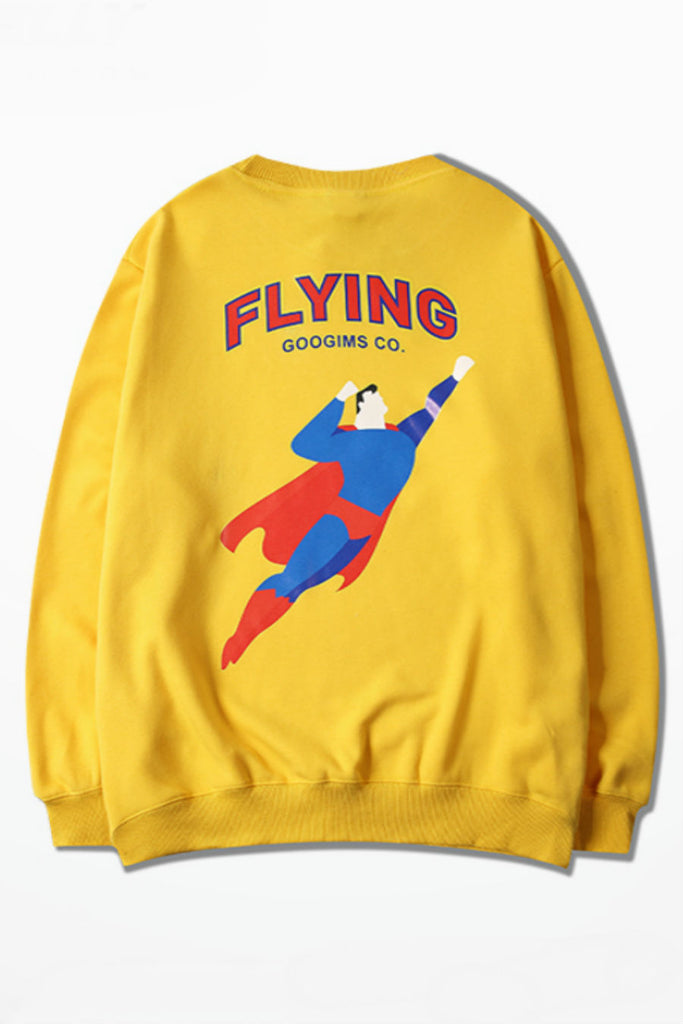 Superman Flying Sweater
