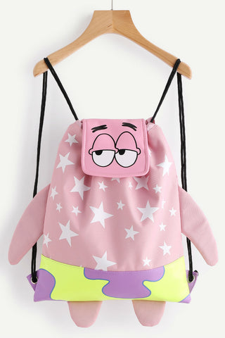 Cute Spongebob Drawstring Backpack