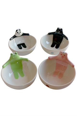 Cute Pig Ceramic Bowls