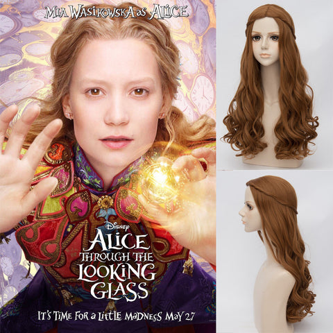 Alice Brown Curly Wig