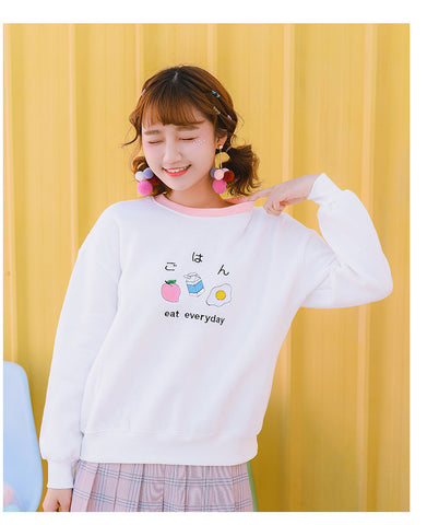 🍜 Eat Everyday Sweatshirt 🍕