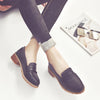 Black College Loafers