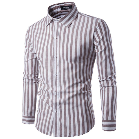 Stripe Prints Dress Shirt