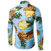 Pineapple Prints Shirt In Blue