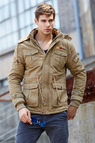Military Padded Winter Coat
