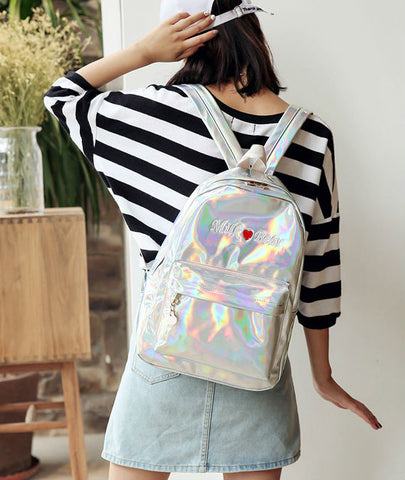 Hologram Grunge Backpack