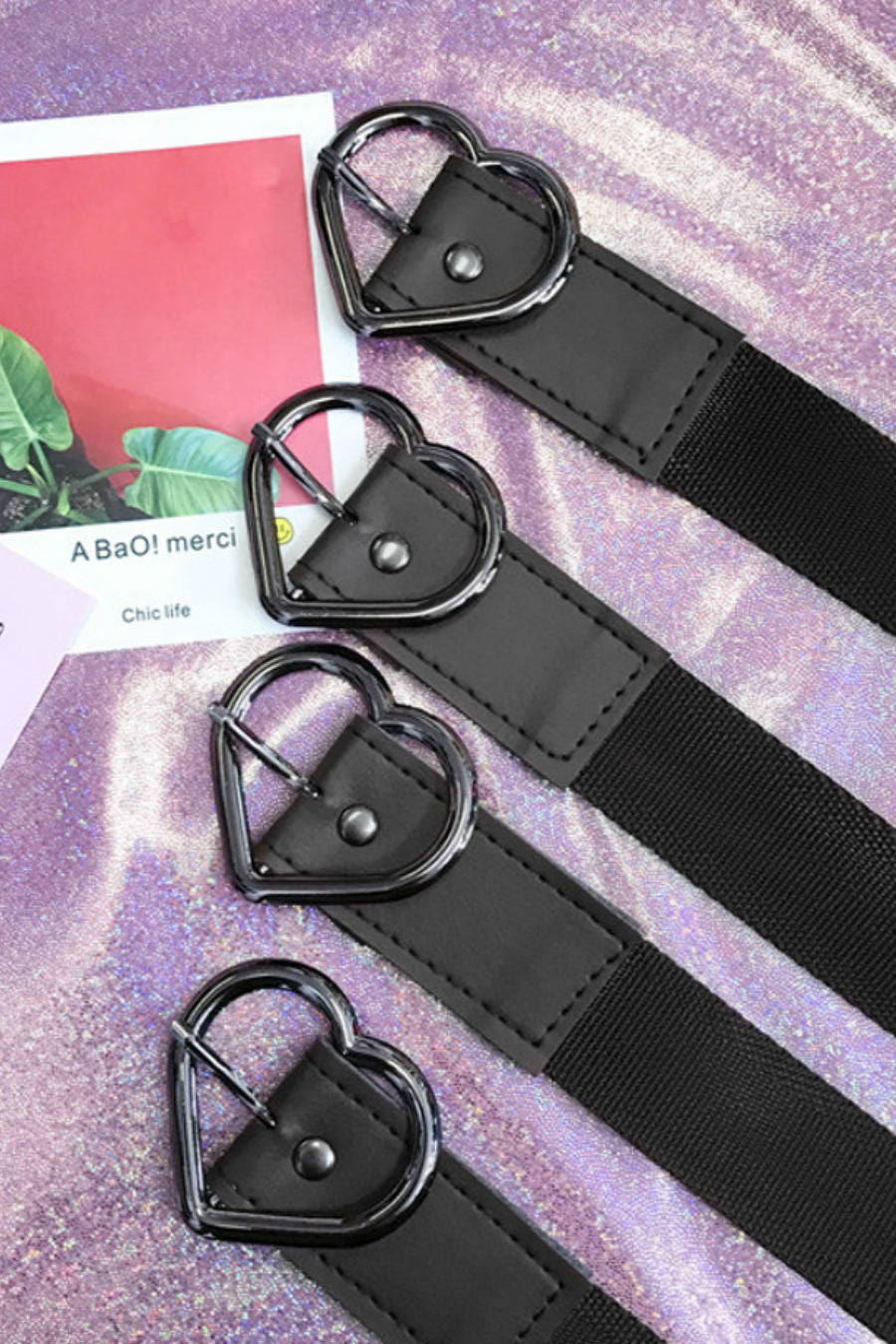 Harajuku Heart Buckle Belt