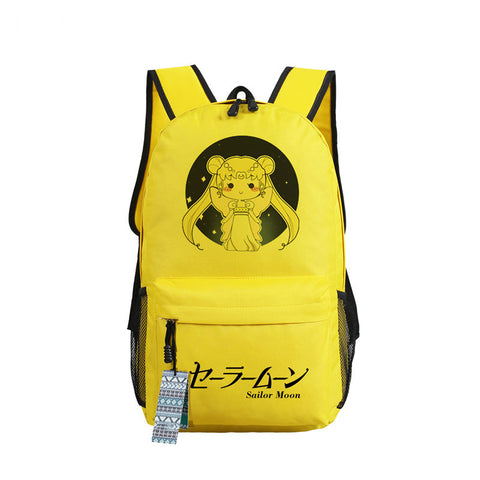 Sailor Moon Print Backpack