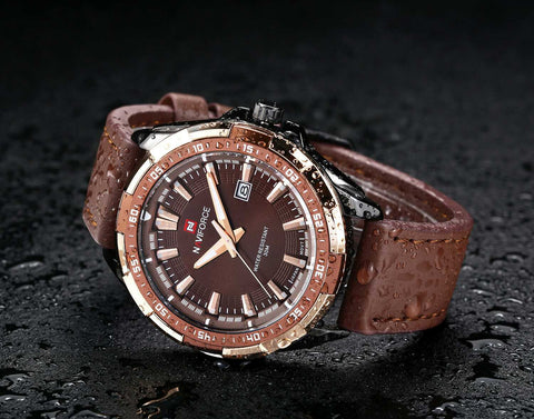 Sport Fashion Leather Band Watch