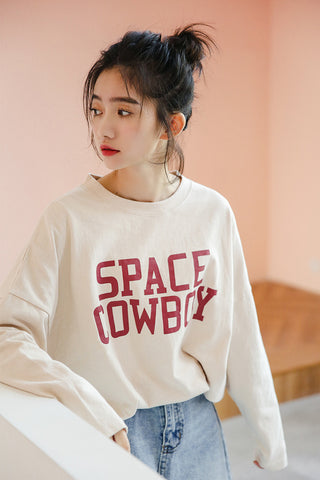 Space Cowboy Long Sleeve T-shirt