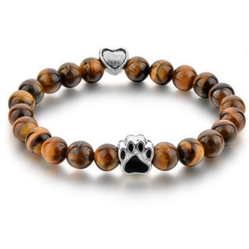 Tiger Eye Paw bracelet