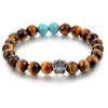 Tiger Eye Paw bracelet charms