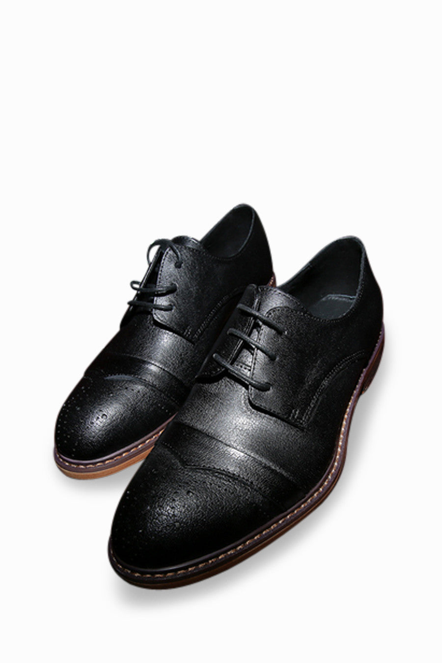 Retro Black Loafers
