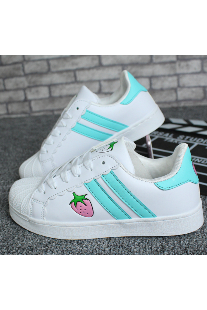 Strawberry Sneakers In Mint