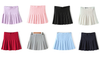 Pastel Color Tennis Pleated Skirt