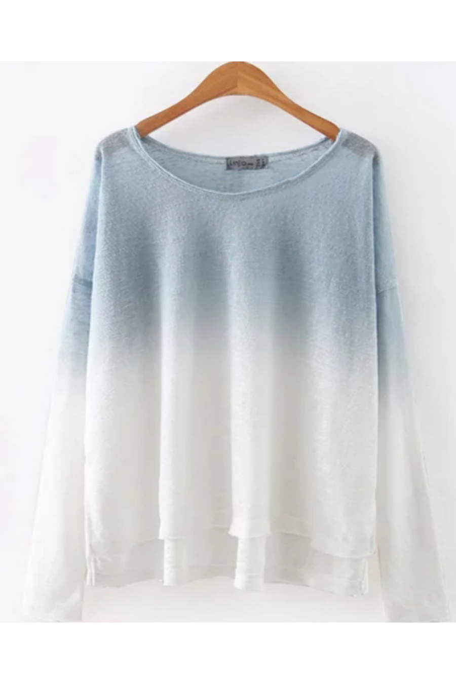 Gradient Long Sleeve T-shirt
