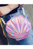 Sea Shell Pearl Cross-body Bag
