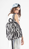 Vintage Zebra Printed Backpack