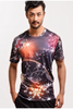 Galaxy Digital Printed T-shirt