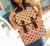 Polka Dots Pink Backpack