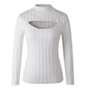 J-fashion Open Chest High-neck Anime Sweater