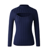 J-fashion High-neck Sweater