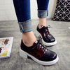 Heart Lace Up Shoes