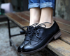 Black Tassel Oxford Shoes