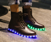 Unisex LED Light Martin Boots