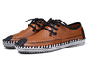Comfy Lace-up Shoes In Brown