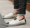 Classic Casual Lace-up Loafers In White