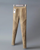 Suede Skinny Pants In Tan