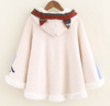 Cute Cat Poncho Coat