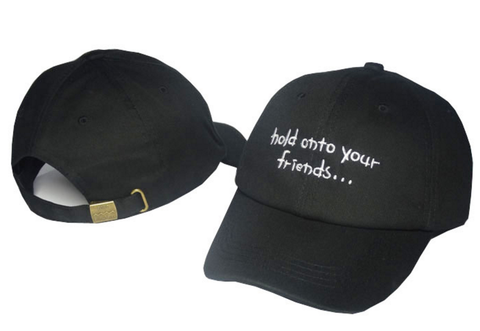Friends Embroidered Hat