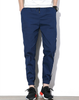 Navy Striped Casual Harem Pants