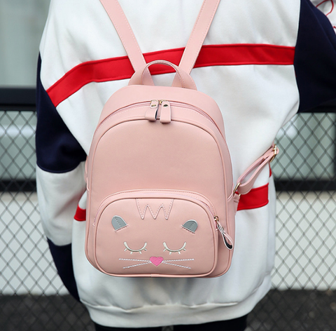 Cute Cat Mini Backpack
