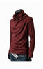 Man Slim Fit Burgundy Sweater