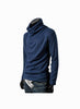 Man Slim Fit Blue Sweater