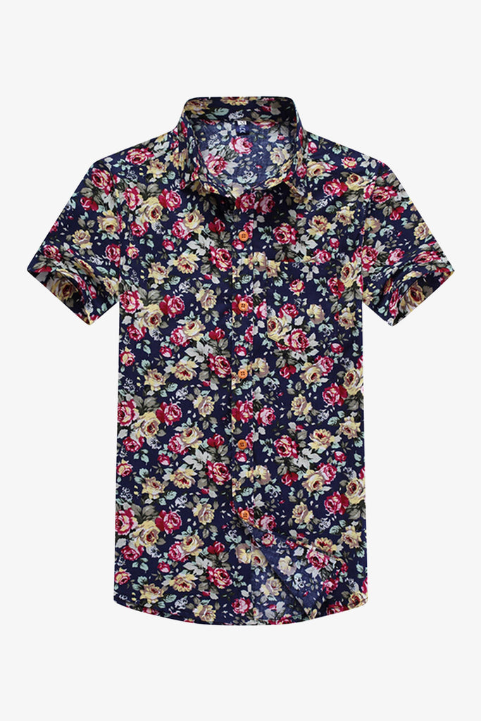 Multi-color Floral Printed Shirt
