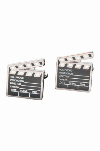 Clapper Board Men's Cufflinks