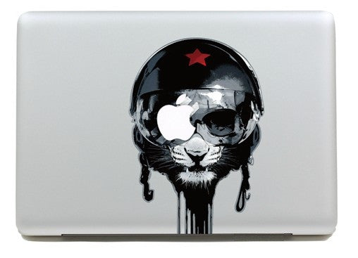 Macbook Blind Cat Decal Sticker. Art Decals By Moooh!!