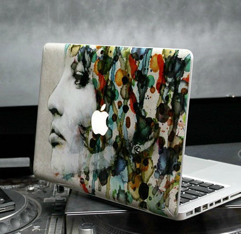 Macbook Acquerello Decal Sticker. Art Decals By Moooh!!