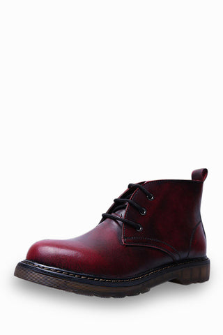 Martin Boots In Burgundy