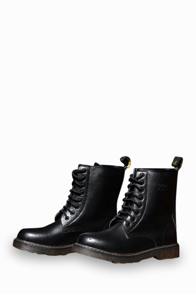 Vintage Martin Army Boots In Black